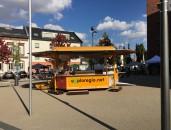 Das war das eXploregio.net-Lernfest 2016 rund um die 'Römerthermen Zülpich – Museum der Badekultur'  - Das eXploregio.mobil auf dem Lernfest in Zülpich