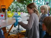 Leerlingen experimenteren bij de eXploregio.mobiel