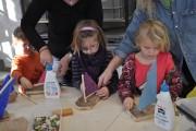 Kinderkunstwerkstatt in der Bleiberger Fabrik