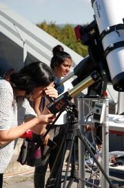 Schülerinnen - Ferienakademie Astrophysik / Radioastronomie 2017